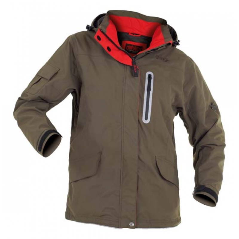 Owney Arnaq Damen Jacke khaki