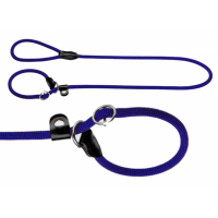 Hunter Retriever Leine Freestyle 120cm x 8mm blau