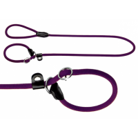Hunter Retriever Leine Freestyle 120cm x 8mm violett