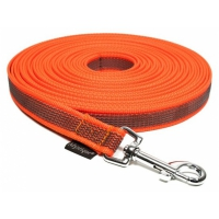 Mystique Schleppleine gummiert orange 5m x 20mm
