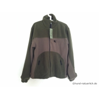 Shellbrook by Deerhunter Fleece Jacke oliv braun Gr. M