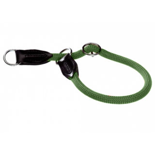 Hunter Freestyle Zugstopp Halsband oliv