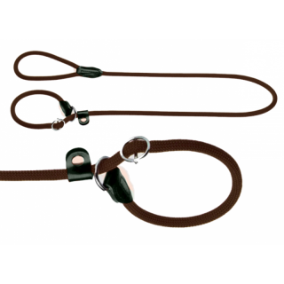 Hunter Retriever Leine Freestyle 120cm x 10mm braun